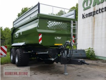 Fliegl TMK 256 FOX - farm tipping trailer/ dumper