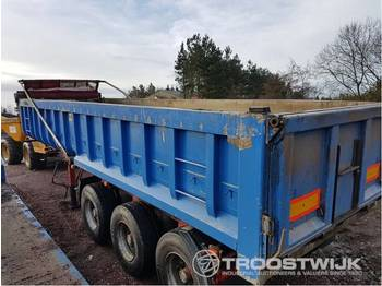 SDC SDC 3 axle tipping trailer  3 axle tipping trailer - farm tipping trailer/ dumper