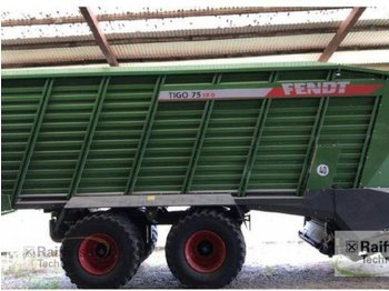 Fendt Tigo 75 XR - self-loading wagon