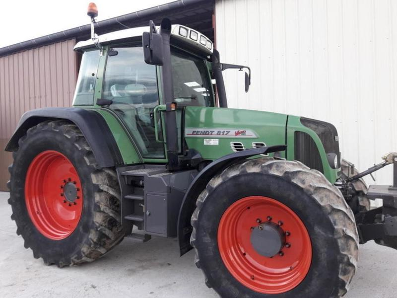 Fendt 817 VARIO TMS wheel tractor, 2004, 52629 GBP for sale at