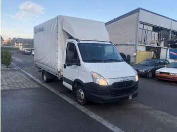 Curtain side van IVECO DAILY 35 C 17 P+P+HF