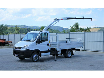 Iveco  DAILY 35C18 Pritsche  3,10m+Kran * Topzustand!  - open body delivery van