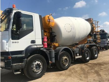 Iveco 340 E 34 (FULL STEEL SUSPENSION) concrete mixer, 1998