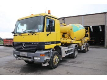 Mercedes-Benz ACTROS 2040 AS+SEMI MIXER LIEBHERR 10M3 - concrete mixer