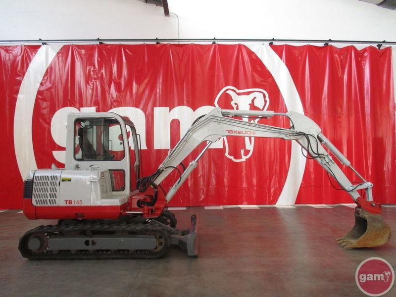 TAKEUCHI TB 145 mini excavator, 2007, 13382 GBP for sale at Truck1