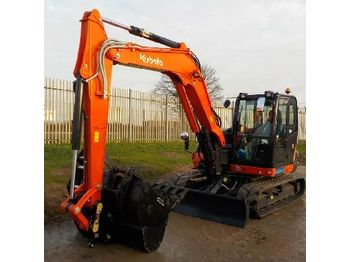 Mini excavator Unused 2018 Kubota KX080-4A