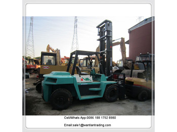 4-wheel front forklift MITSUBISHI FD70