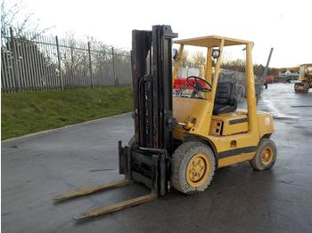 Toyota Diesel Fork Lift, 3 Stage Free Lift Mast, Side Shift, Forks - 4-wheel front forklift