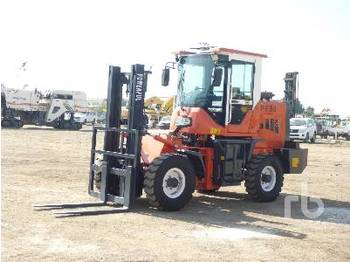 Rough terrain forklift POWERFUL PF30 3 Ton 4x4 Articulated