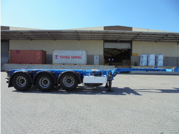 Pacton T3-010 - container transporter/ swap body semi-trailer
