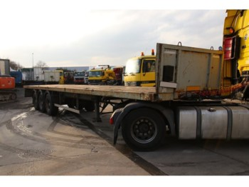 Robuste-Kaiser PLATEAU + TWIST-LOCKS - CONTAINER 20'+40' - flatbed semi-trailer