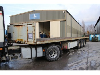 Robuste-Kaiser TWIST LOCKS - CONTAINER 20'+40' - flatbed semi-trailer