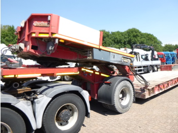Nooteboom 4-axle lowbed trailer + dolly / extendable 10.8 m / 106 t - low loader semi-trailer