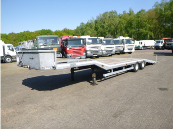 Veldhuizen Semi-lowbed trailer (light commercial) 10 m + winch + ramp - low loader semi-trailer