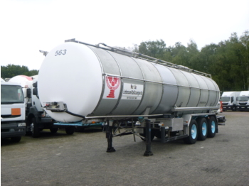Burg Food tank inox 30.3 m3 / 1 comp - tank semi-trailer