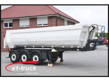 Tipper semi-trailer Kempf SKM 35/3 Stahl, 27m³, Lift, - Kipper TÜV 03/201: picture 1
