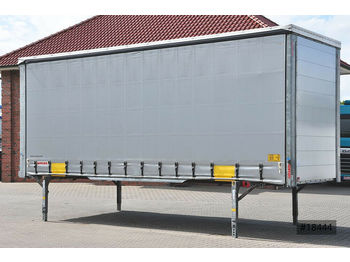 Wecon Jumbo 7.82, Grand Duke, Automobil, verzinkt.  - curtainside swap body