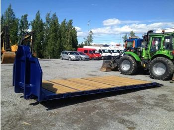 Flatbed swap body New VAIHTOLAVA Kone puupohja 13 t dropside body