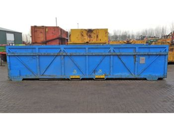 Opslag Container flat dropside body - flatbed swap body