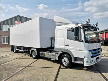 Mercedes-Benz ATEGO 822 Euro 5 | Manual + 1 Axle City-Trailer  - tractor unit