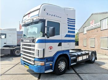 Scania R124 4x2 420 | Retarder | Manual | Topline  - tractor unit