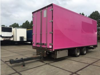 Closed box trailer DRACO MZS 218 / ISOLATED-FLOWER-BOX / LIFT / L77