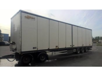 Mestone 2+3 tpv - closed box trailer