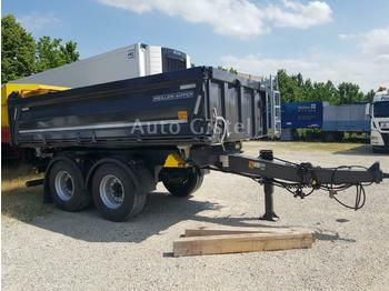 Meiller MZDA 18/23 18 to. Stahl mit Bordmatik  - tipper trailer