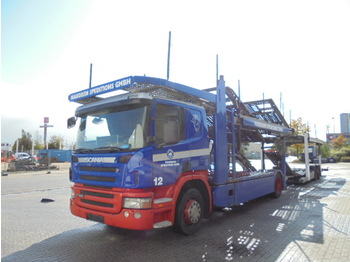 Scania P380 - autotransporter truck