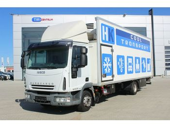 Box truck Iveco EUROCARGO 120EL22 THERMOKING,HYDRAULIC LIFT