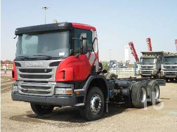 New SCANIA P360 6x4 cab chassis truck for sale from United