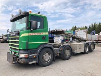 Container transporter/ swap body truck SCANIA P124 420