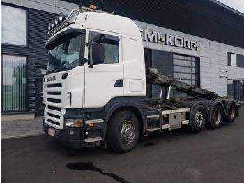 Container transporter/ swap body truck SCANIA R500 8x2