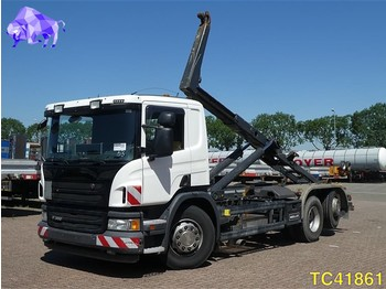 Container transporter/ swap body truck Scania P 360 Euro 5