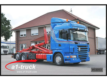 Scania R500 hook lift truck, 2012, 45592 GBP for sale at