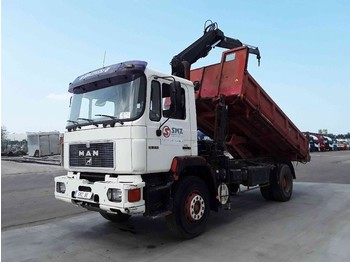 Tipper MAN 19.272 hiab 6505