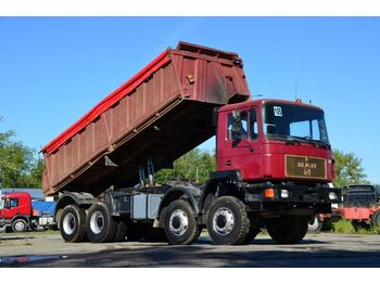 Tipper MAN 41.372 8x8 1989