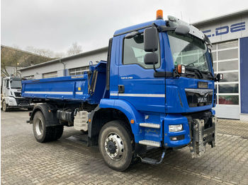 MAN TGM 18.290 4x4 BB Euro 6 Meiller Winterplatte  - tipper